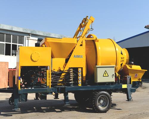 Aimix pump machine