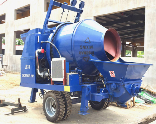 aimix concrete mixer and pumps