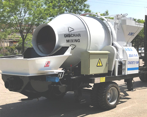 40m3ph concrete mixer and pump for sale