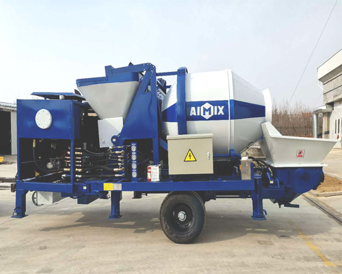 high quality of concrete mixer and pump