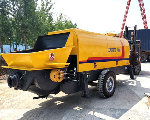cheap hydraulic concrete pump
