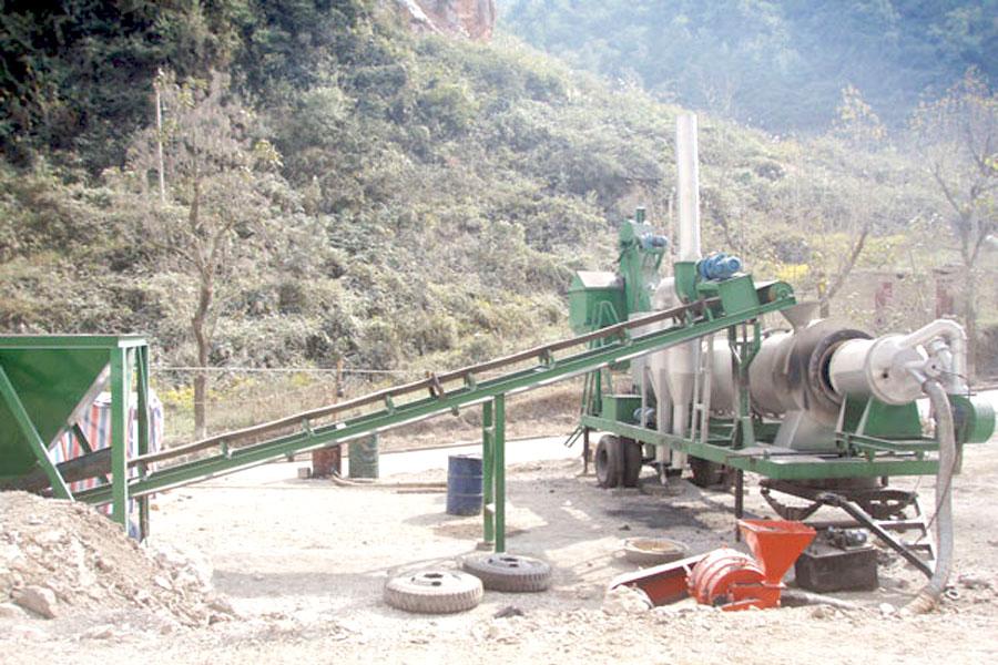 good quality asphalt plant in Aimix
